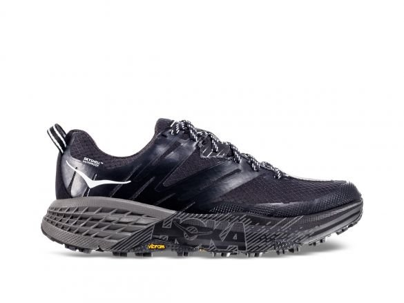 HOKA SPEEDGOAT 3 WP W BLACK / PLAIN AIR