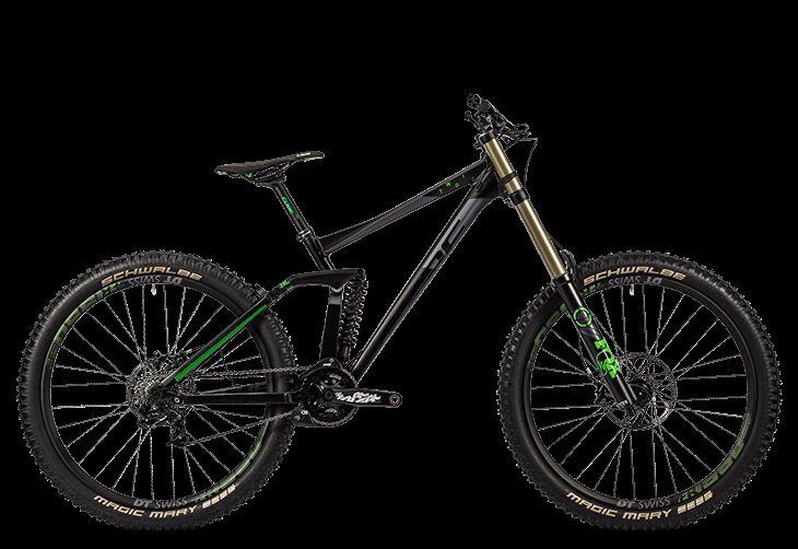 CUBE TWO 15 RACE 27 5 BLACK  N  GREEN