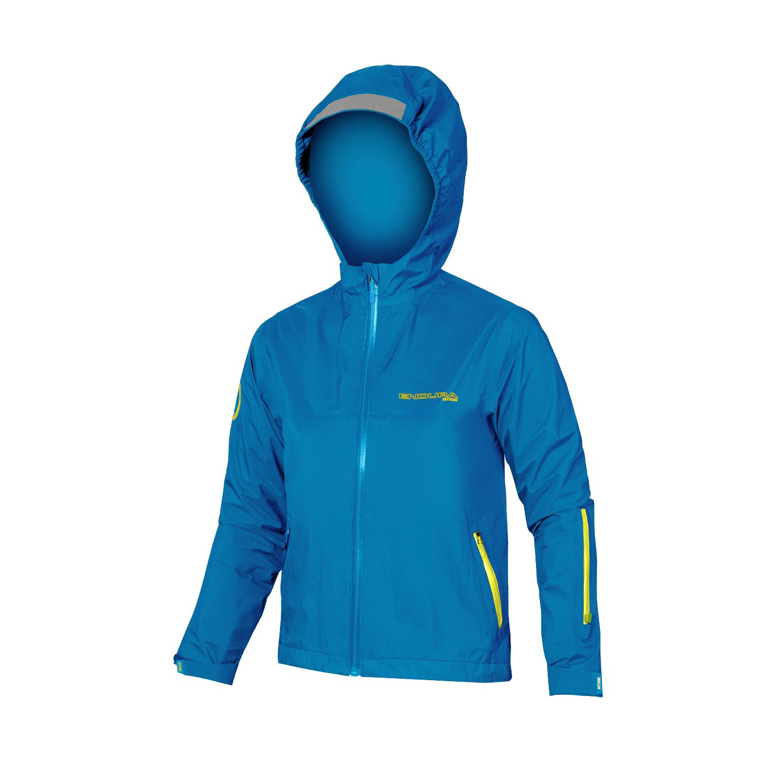 ENDURA MT500 JR WATERPROOF JKT AZZURRO